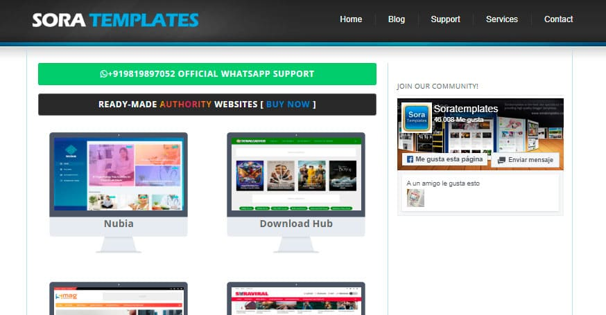 Soratemplates, plantillas para blogspot de calidad