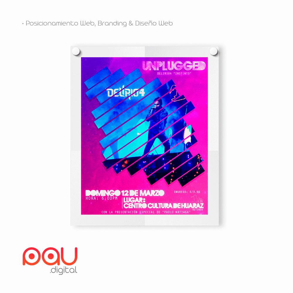 Afiche Unplugged